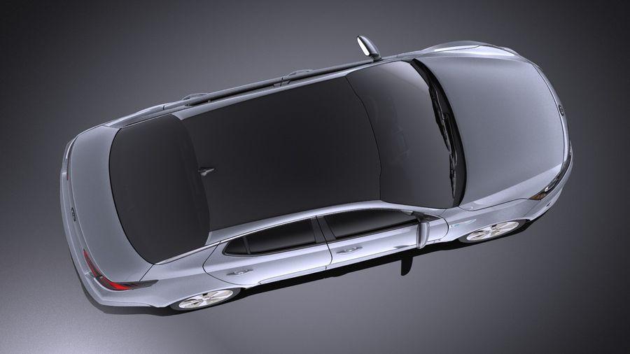 Kia Optima Hybrid 2016 VRAY royalty-free 3d model - Preview no. 8