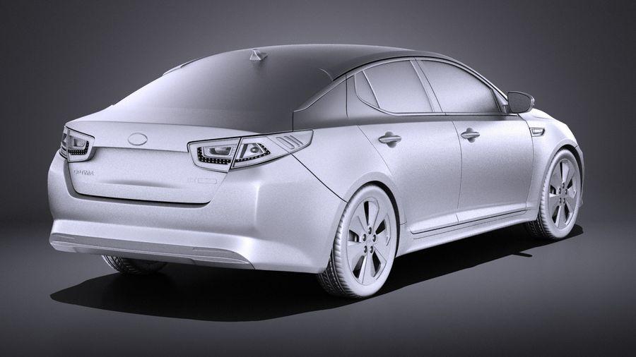 Kia Optima Hybrid 2016 VRAY royalty-free 3d model - Preview no. 12