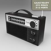 Juego de Radio FM Listo para Pbr modelo 3d