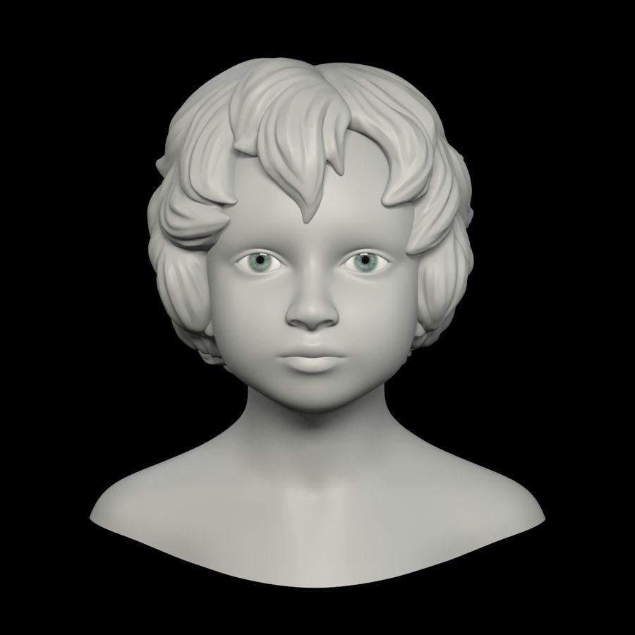 Tête royalty-free 3d model - Preview no. 8
