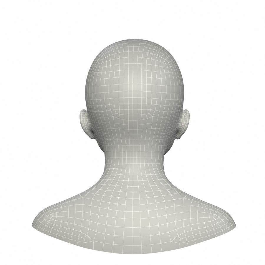 Голова royalty-free 3d model - Preview no. 11