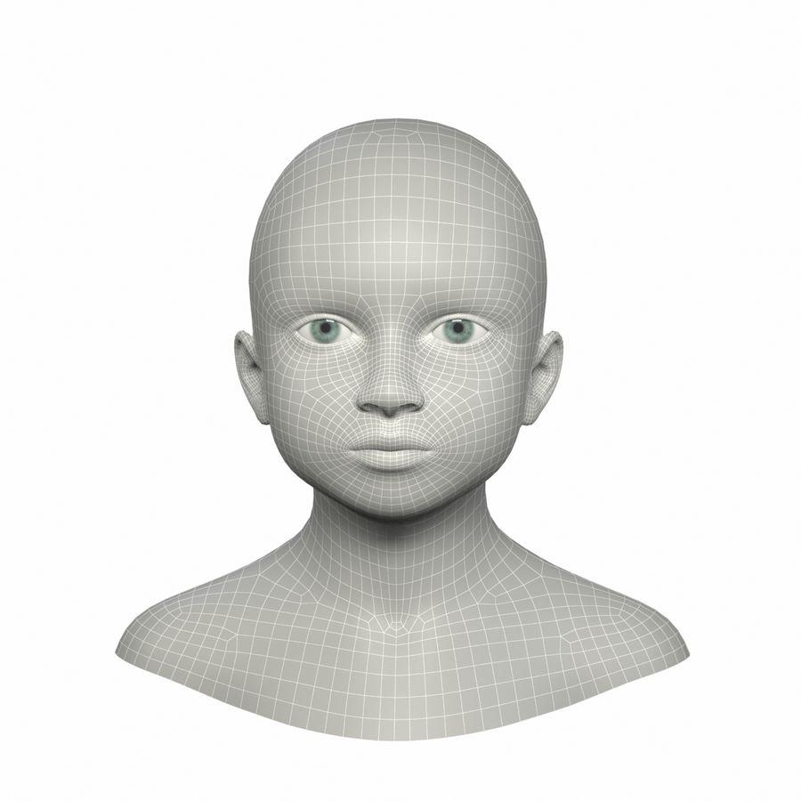 Tête royalty-free 3d model - Preview no. 10