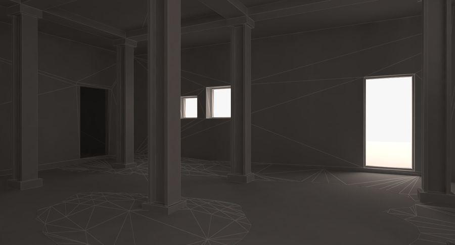 Opuszczony budynek przemysłowy royalty-free 3d model - Preview no. 15