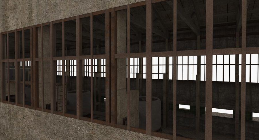 Opuszczony budynek przemysłowy royalty-free 3d model - Preview no. 18