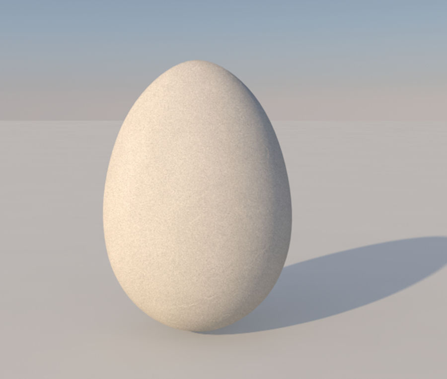Oeuf royalty-free 3d model - Preview no. 1