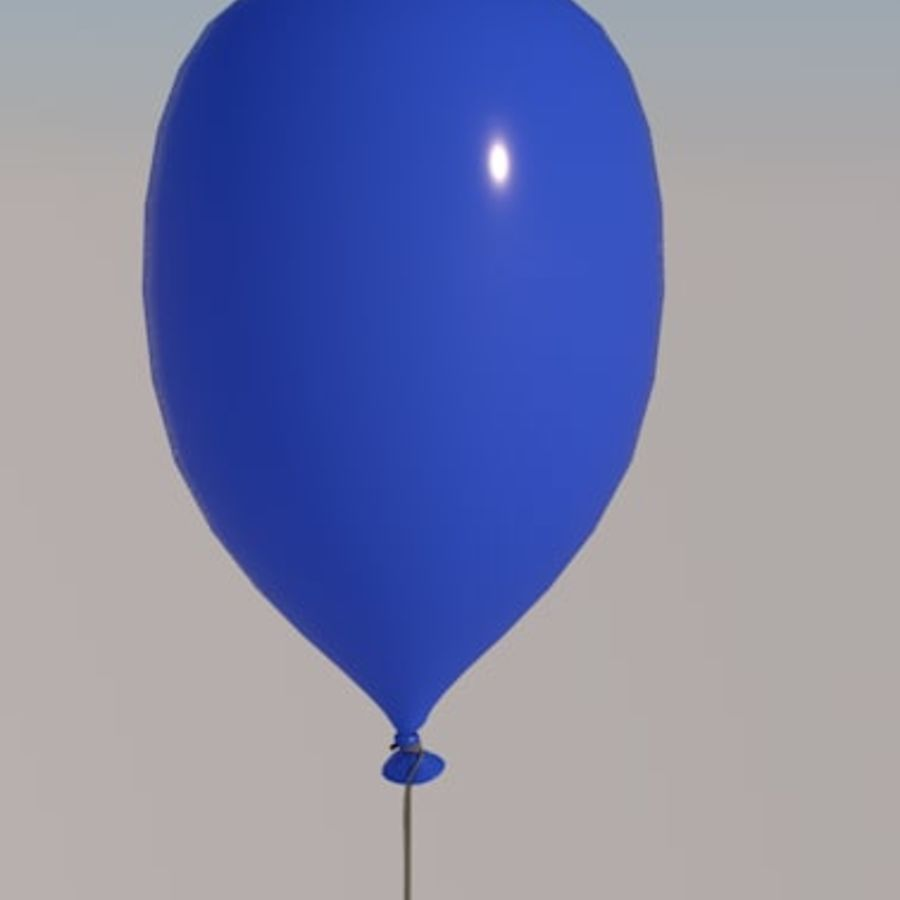balon royalty-free 3d model - Preview no. 3