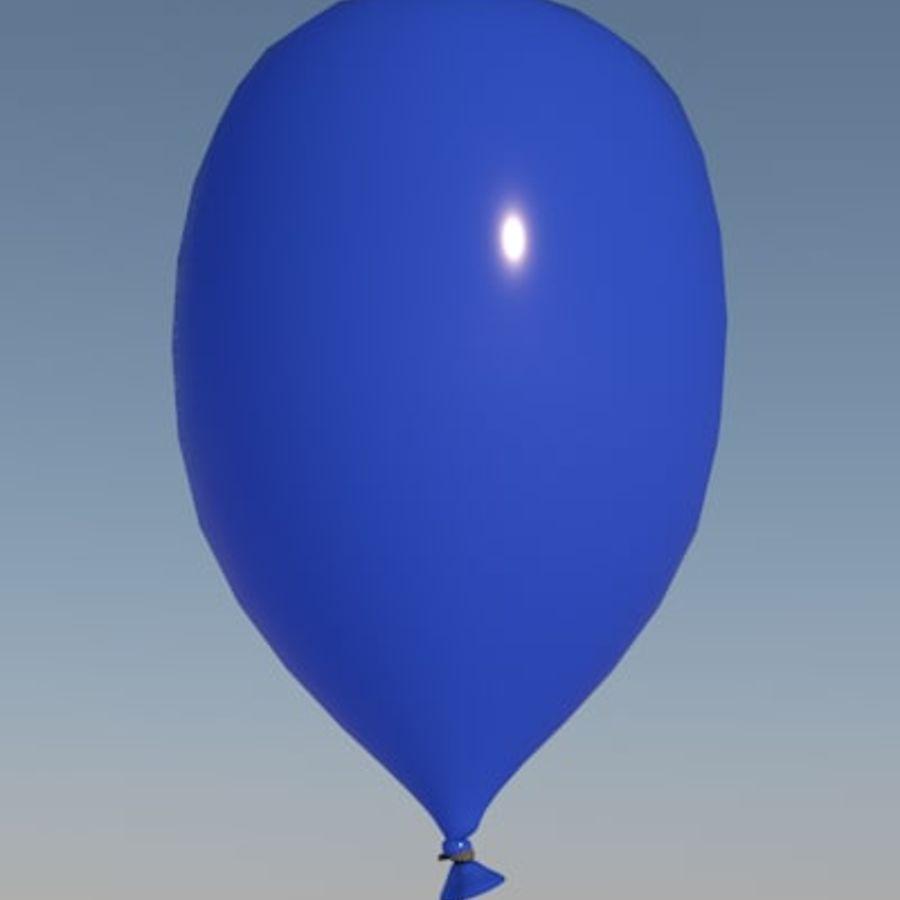ballon royalty-free 3d model - Preview no. 1