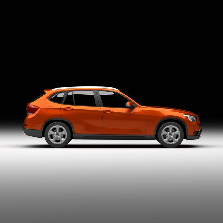 Samochód SUV royalty-free 3d model - Preview no. 7