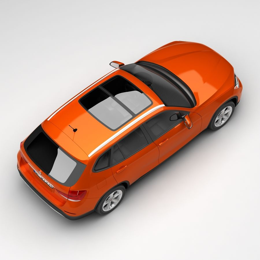 Samochód SUV royalty-free 3d model - Preview no. 9