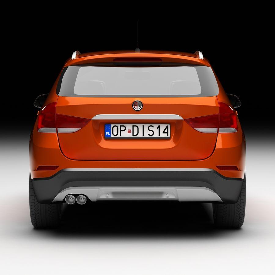 Samochód SUV royalty-free 3d model - Preview no. 5