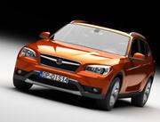 SUV 자동차 3d model