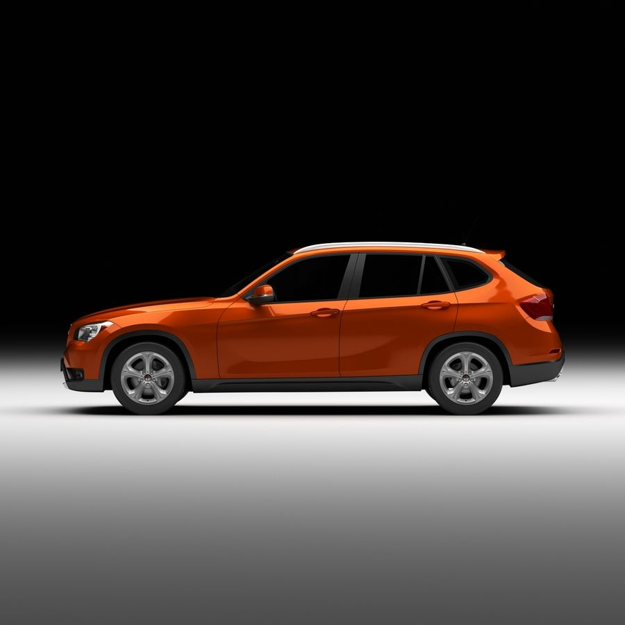 Samochód SUV royalty-free 3d model - Preview no. 6