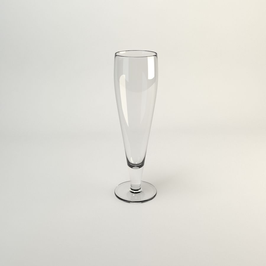 vaso de cerveza ikea PRIMITIV royalty-free modelo 3d - Preview no. 3
