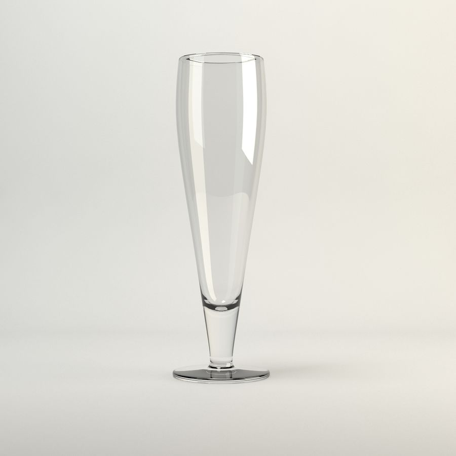 vaso de cerveza ikea PRIMITIV royalty-free modelo 3d - Preview no. 1