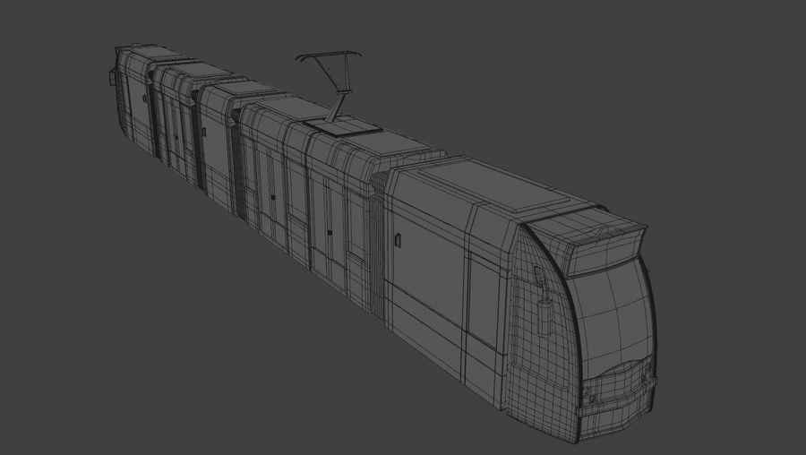 Tram di Amsterdam royalty-free 3d model - Preview no. 6