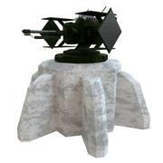 Lazer taret 3d model