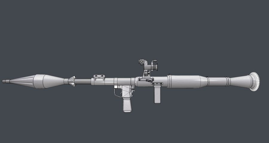 RPG,范围RPG7 royalty-free 3d model - Preview no. 14