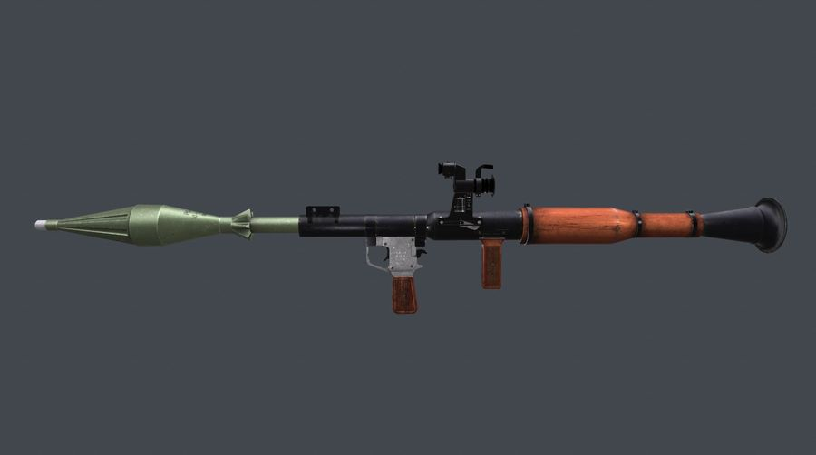 범위 RPG7이있는 RPG royalty-free 3d model - Preview no. 7