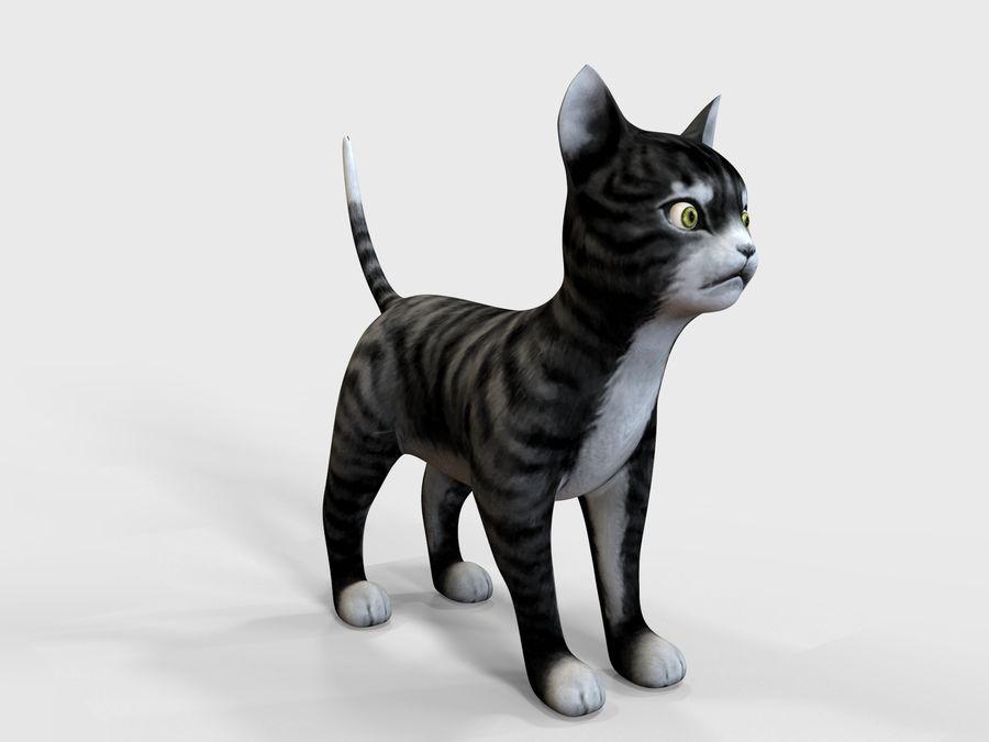 игра кошка готова низкополигональная royalty-free 3d model - Preview no. 3
