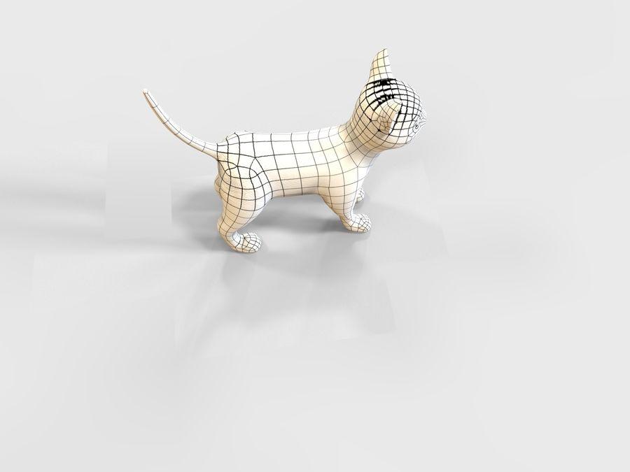 игра кошка готова низкополигональная royalty-free 3d model - Preview no. 12