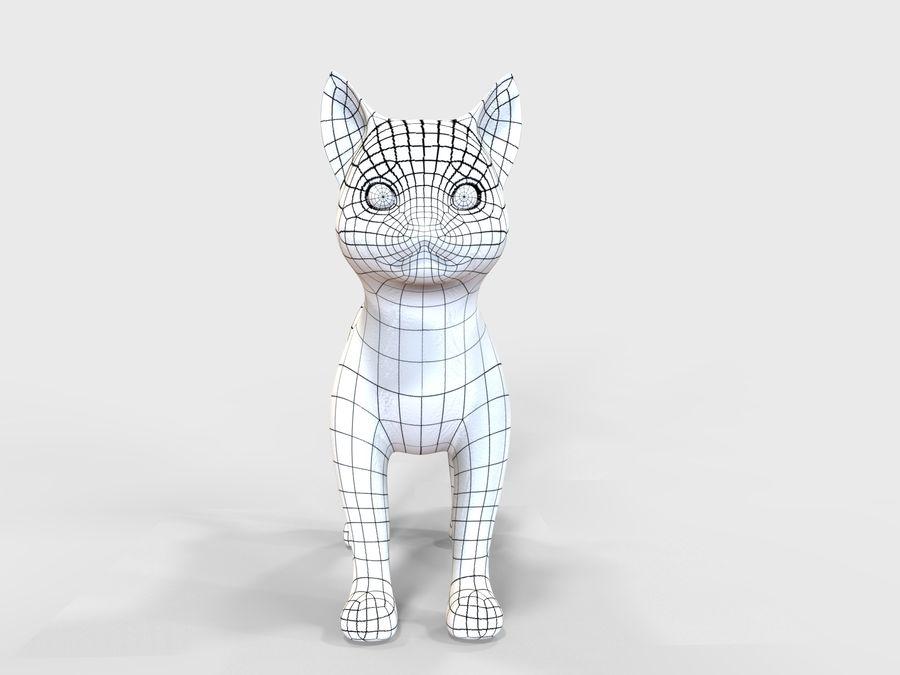 игра кошка готова низкополигональная royalty-free 3d model - Preview no. 13