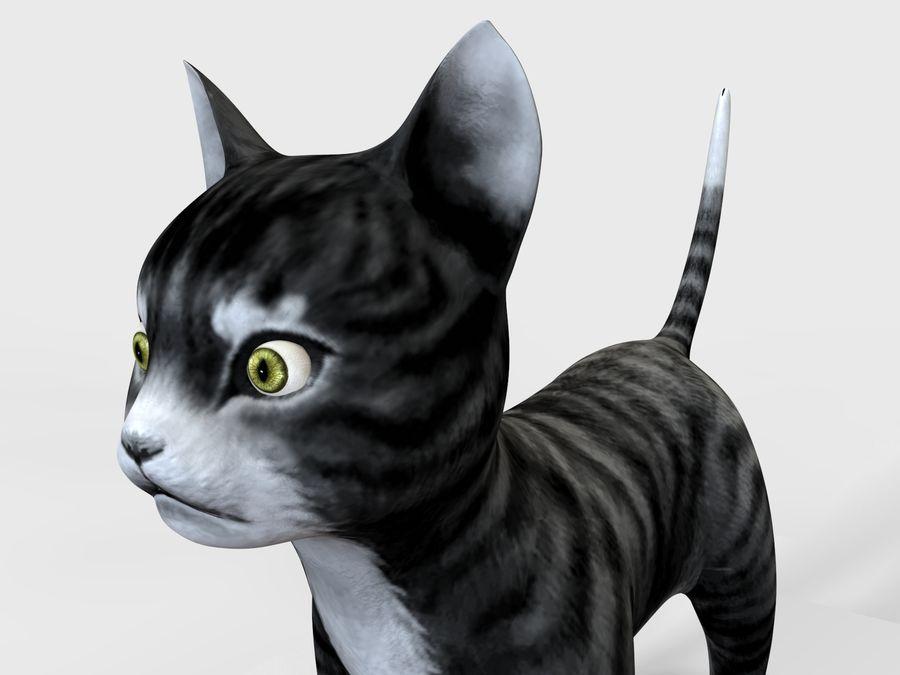 игра кошка готова низкополигональная royalty-free 3d model - Preview no. 6
