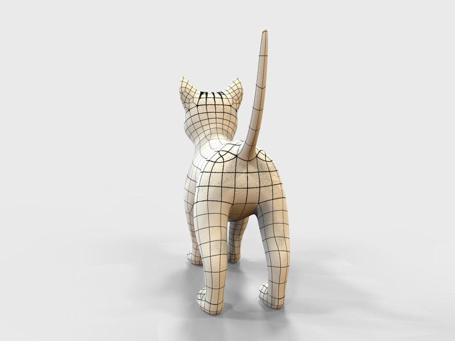 игра кошка готова низкополигональная royalty-free 3d model - Preview no. 10