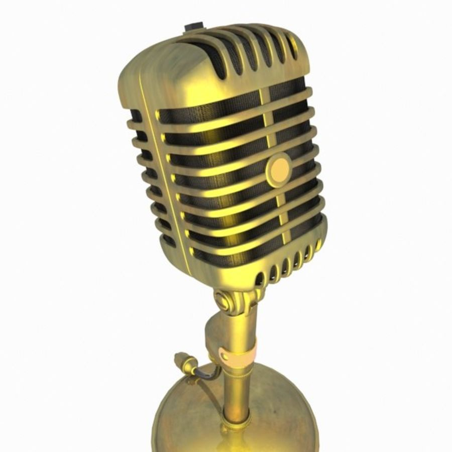 Microphone royalty-free 3d model - Preview no. 11