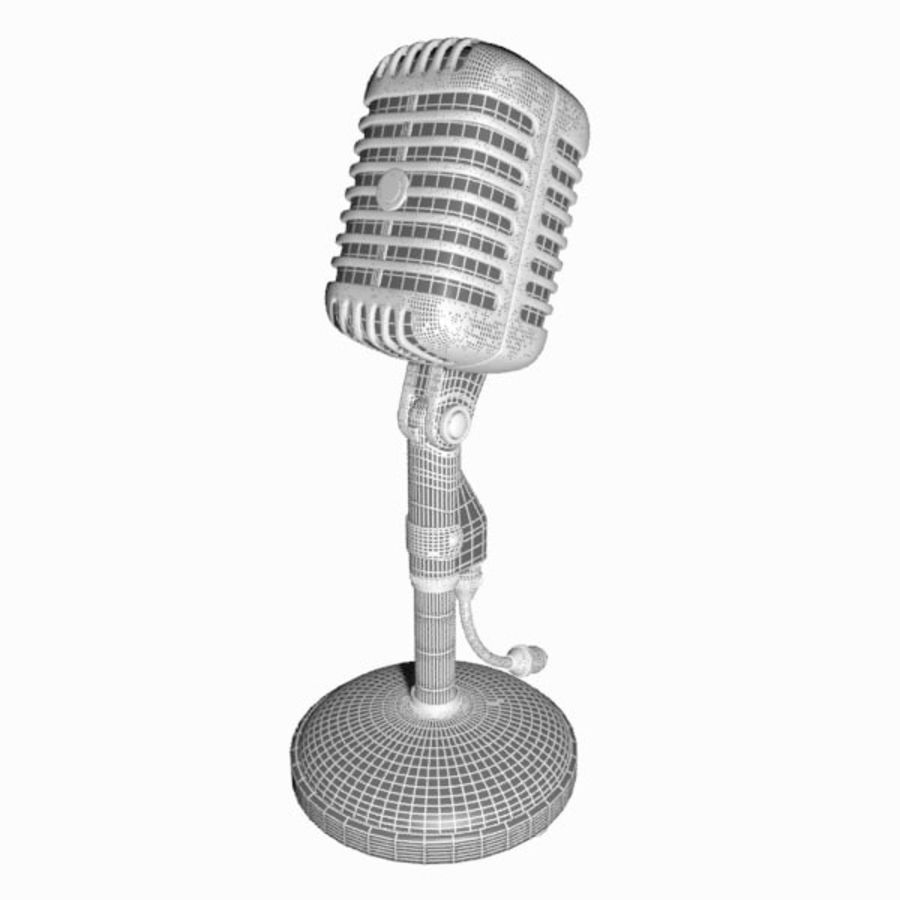Microphone royalty-free 3d model - Preview no. 14