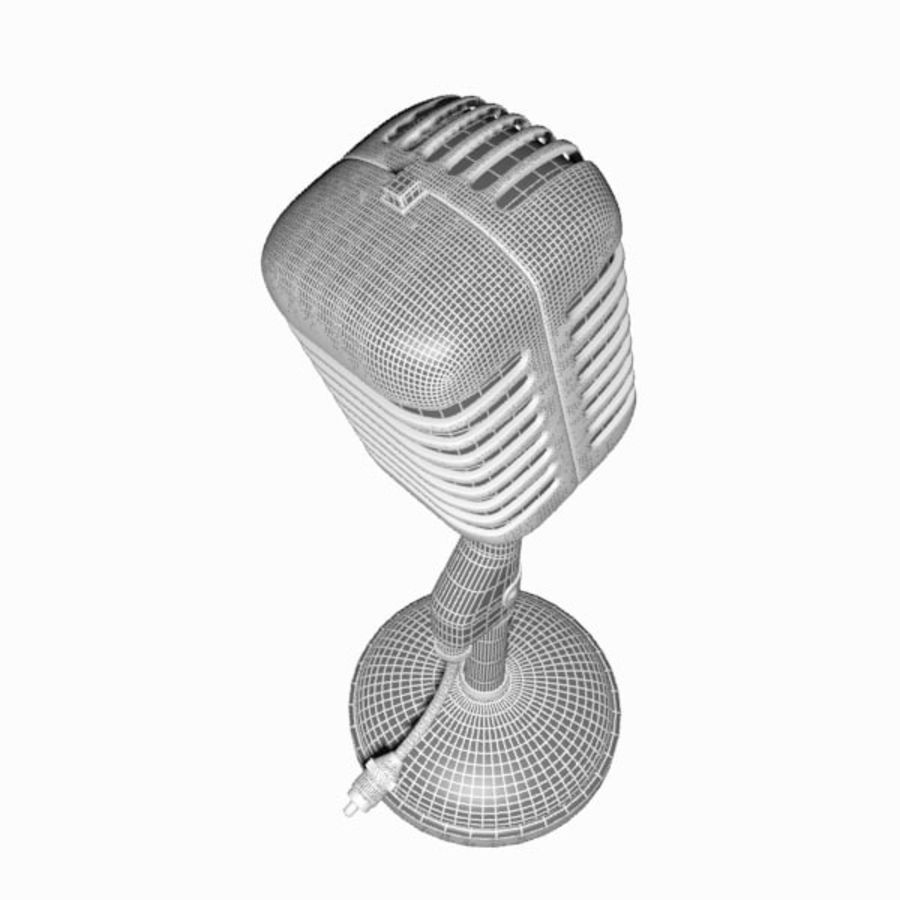 Microphone royalty-free 3d model - Preview no. 17