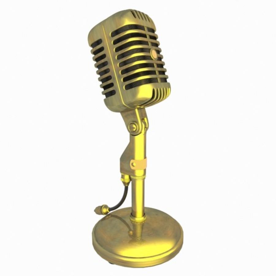 Microphone royalty-free 3d model - Preview no. 1