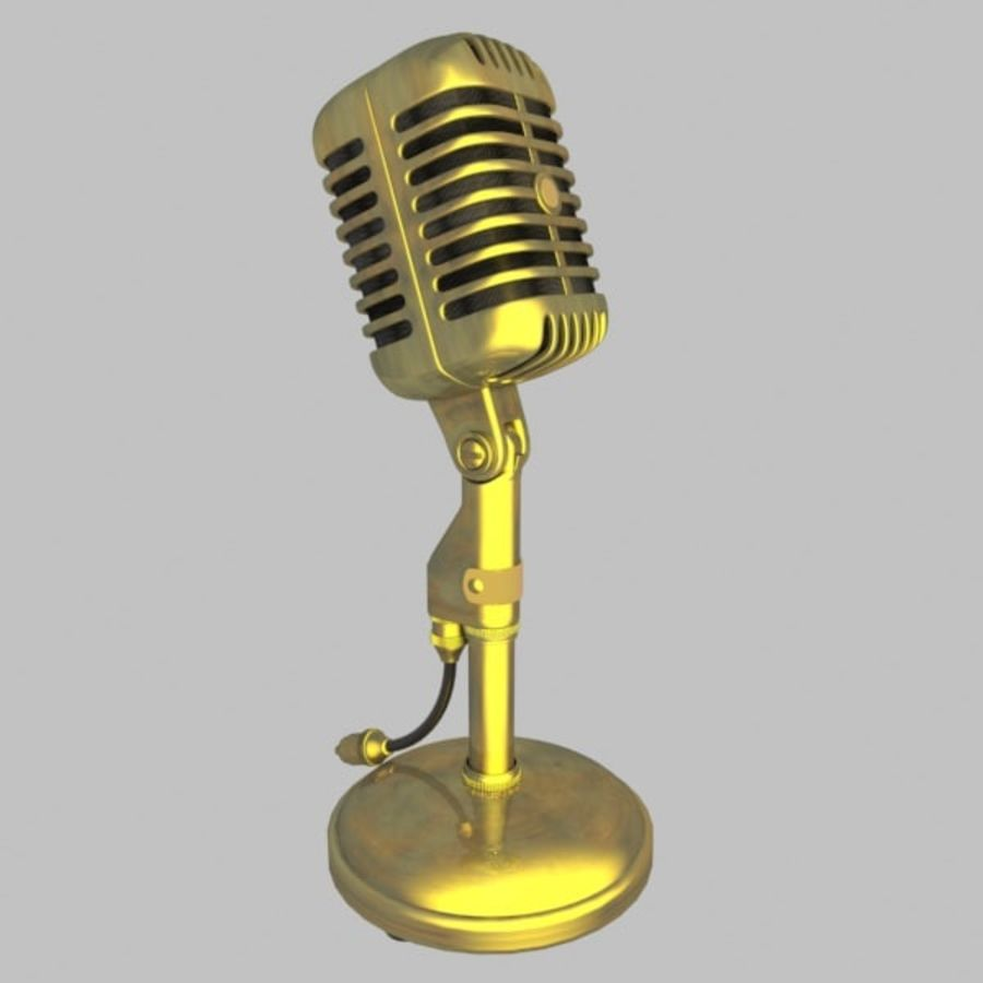 Microphone royalty-free 3d model - Preview no. 2