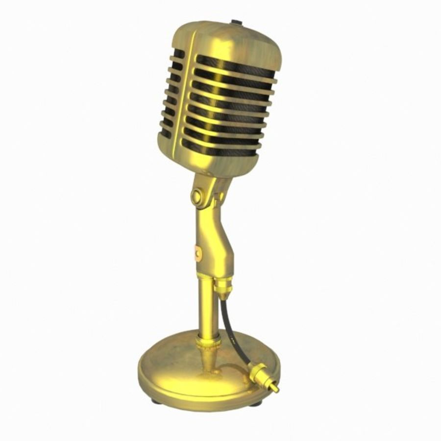 Microphone royalty-free 3d model - Preview no. 8