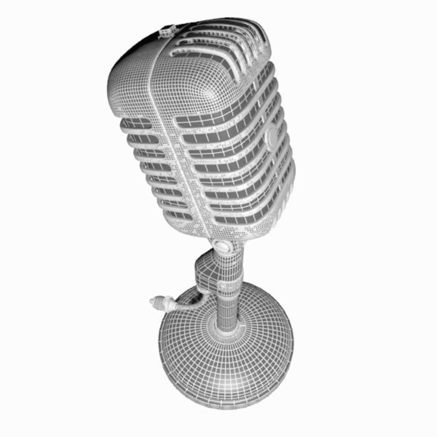 Microphone royalty-free 3d model - Preview no. 16