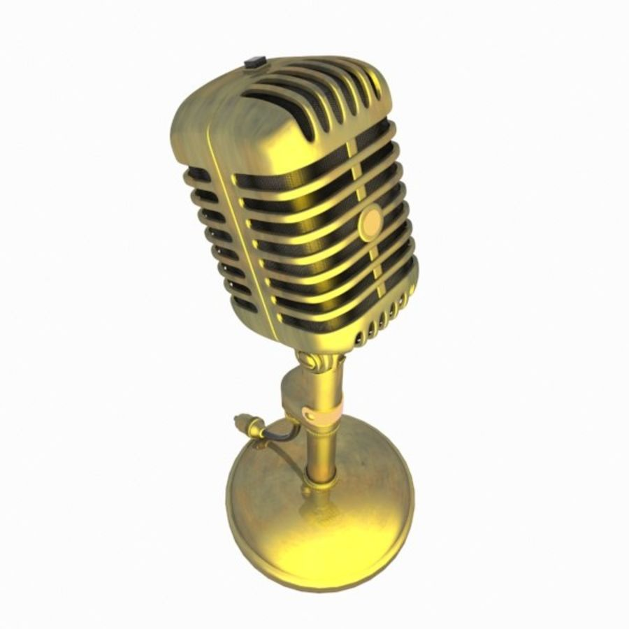 Microphone royalty-free 3d model - Preview no. 3
