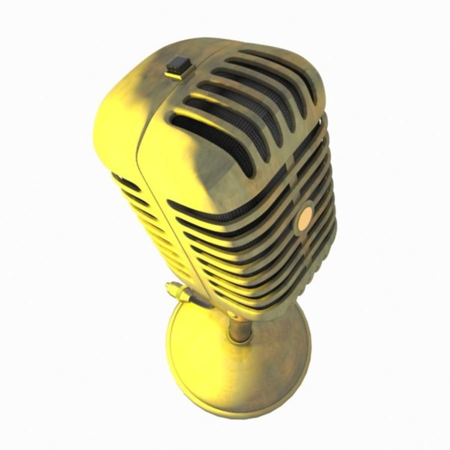 Microphone royalty-free 3d model - Preview no. 10