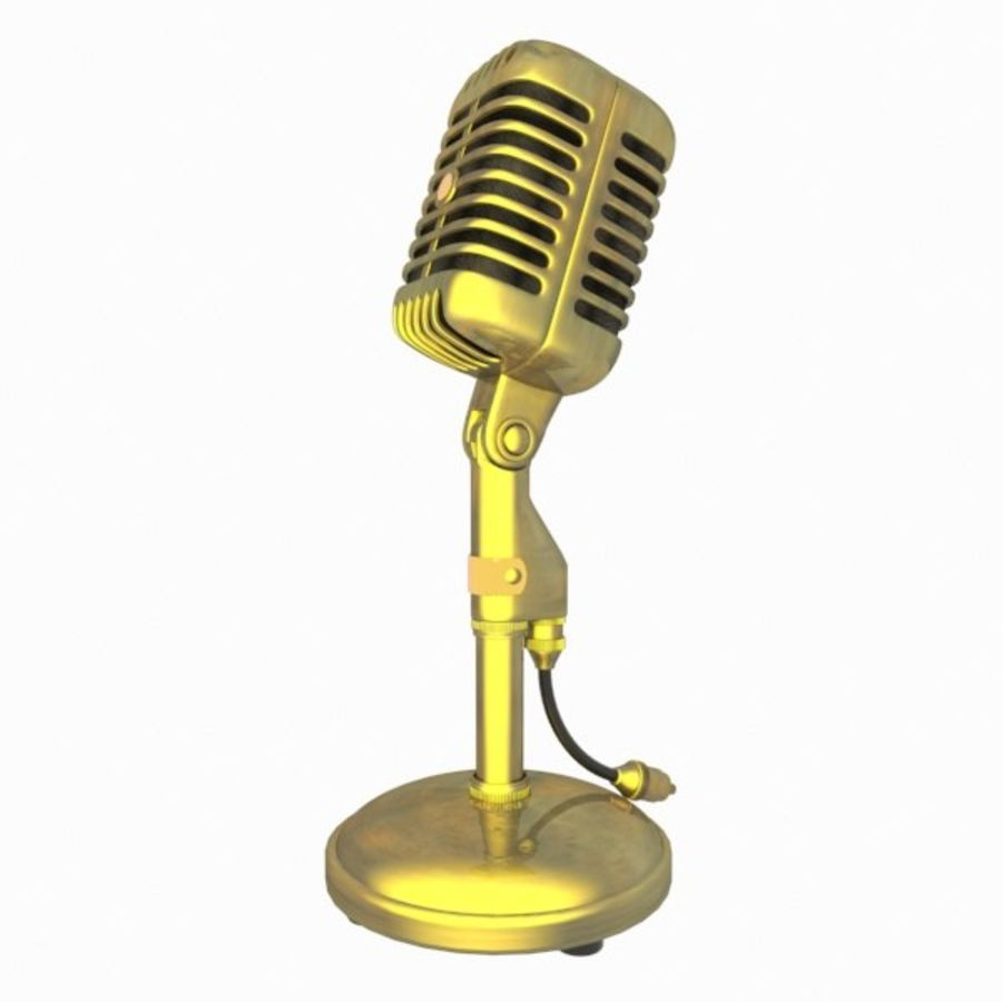Microphone royalty-free 3d model - Preview no. 5