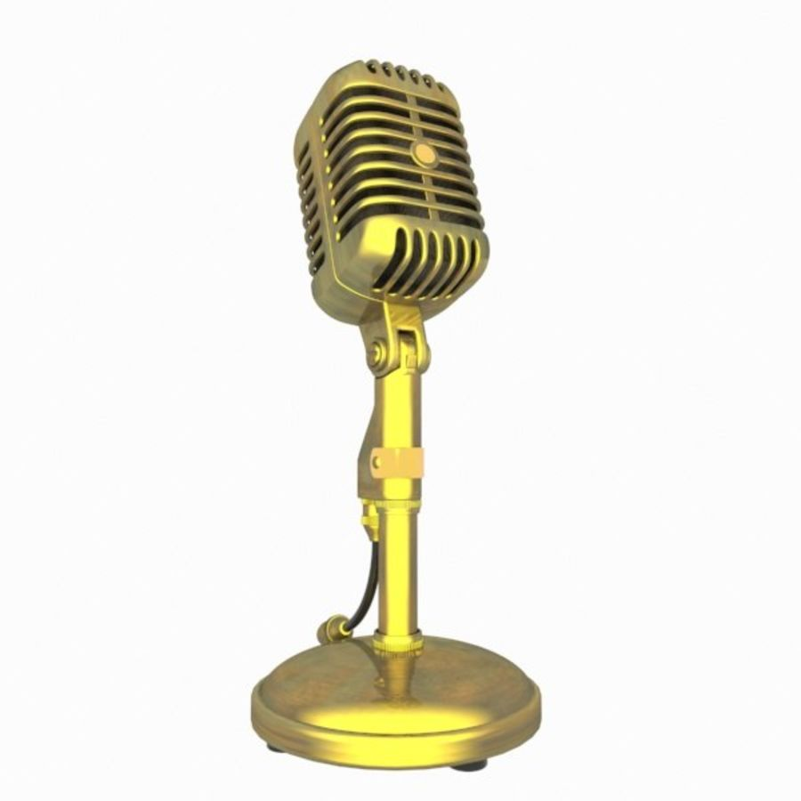 Microphone royalty-free 3d model - Preview no. 4