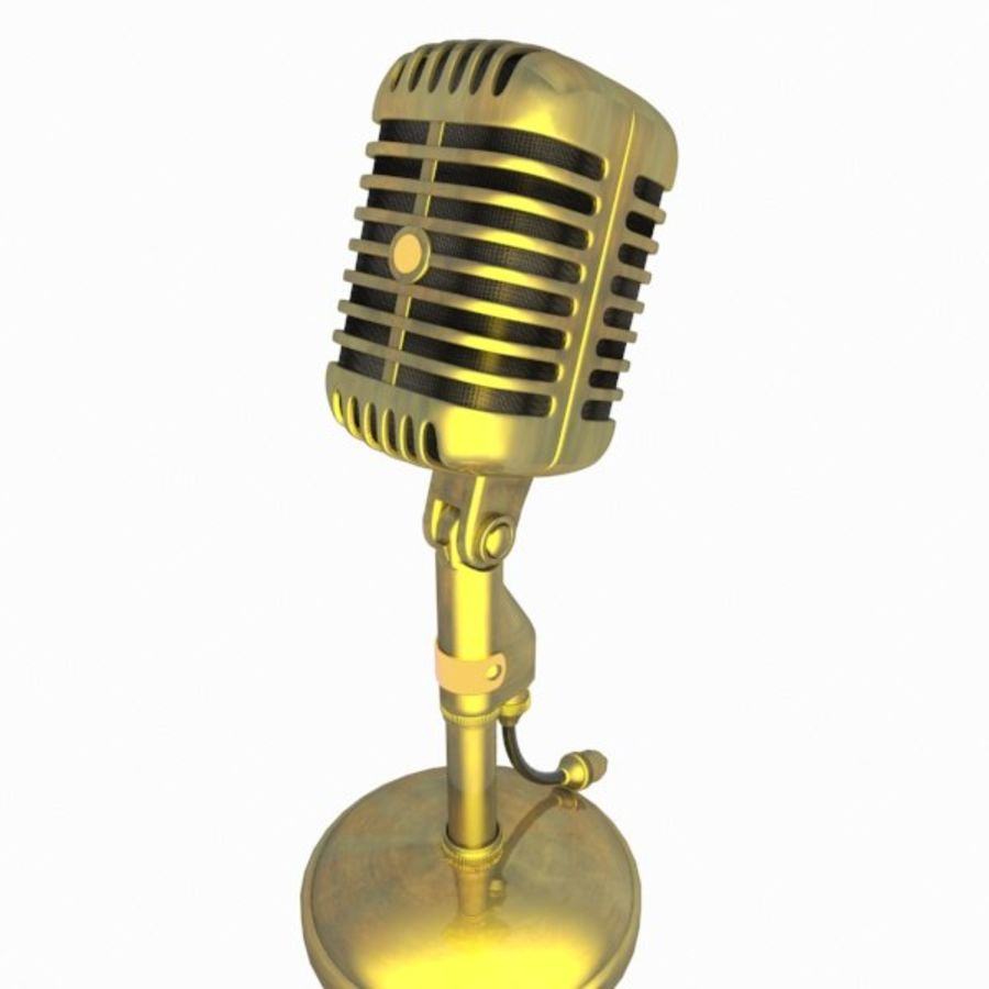 Microphone royalty-free 3d model - Preview no. 12