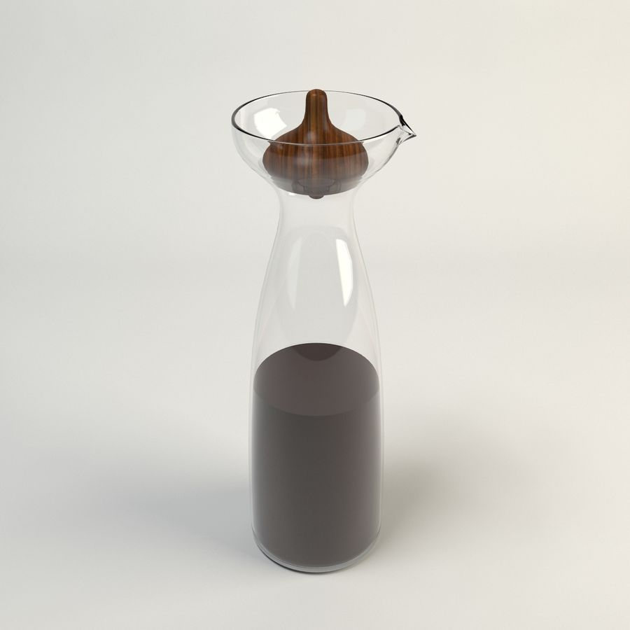 Decanters & Carafes Alfredo Glass Jarra royalty-free modelo 3d - Preview no. 3