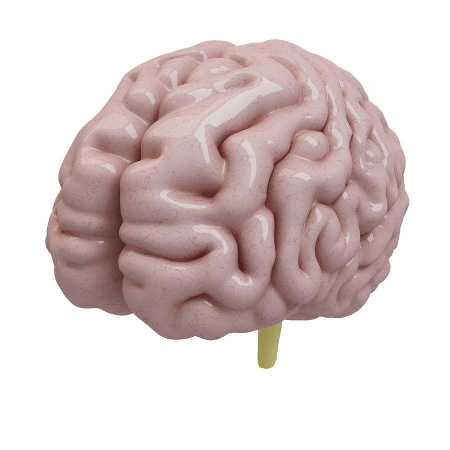 Человеческий мозг royalty-free 3d model - Preview no. 1