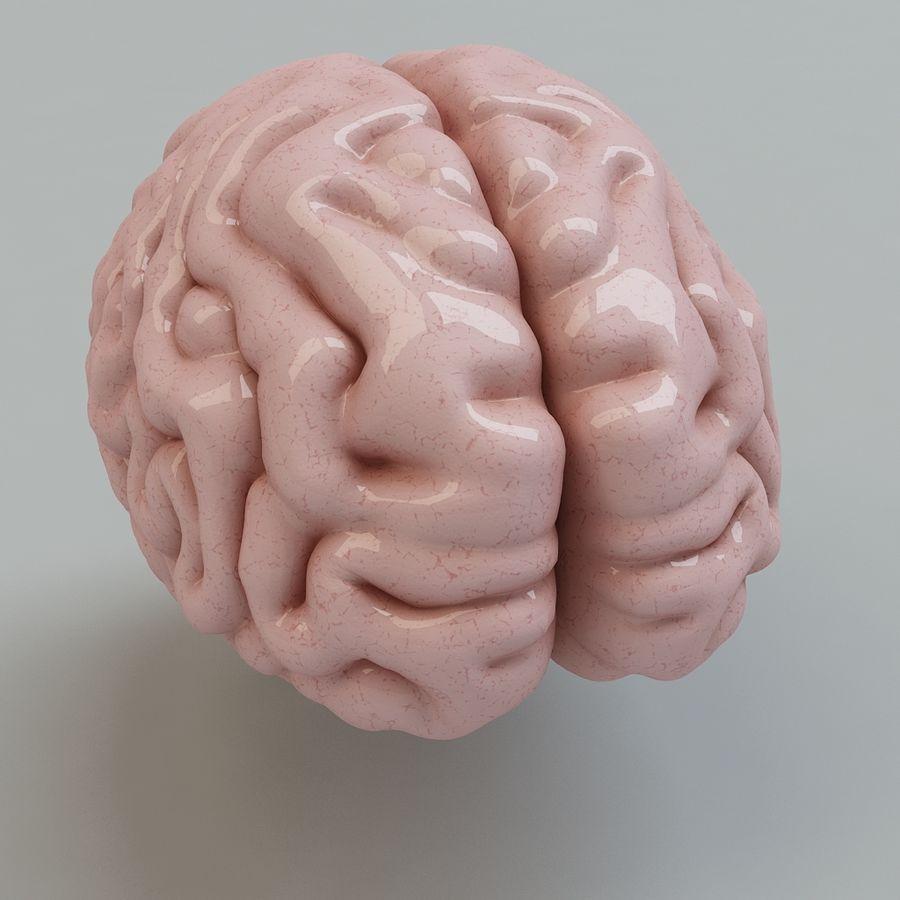Человеческий мозг royalty-free 3d model - Preview no. 5