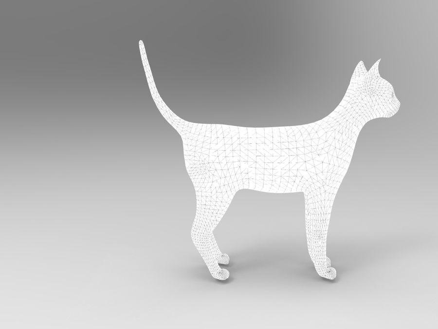 猫模型 royalty-free 3d model - Preview no. 12