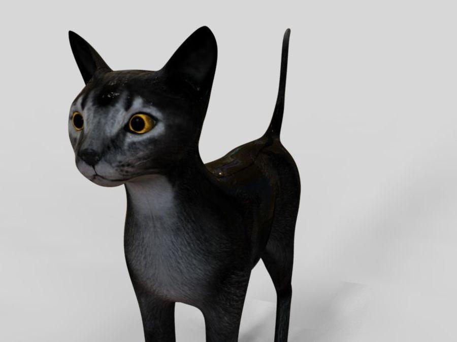 猫模型 royalty-free 3d model - Preview no. 2
