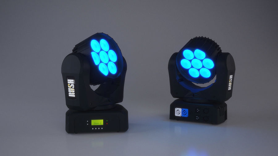 Led Light royalty-free 3d model - Preview no. 1