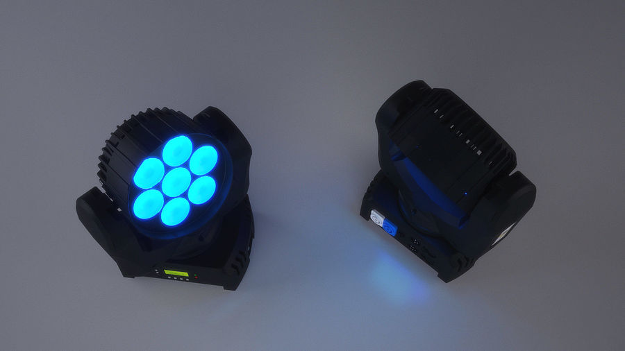 Led Light royalty-free 3d model - Preview no. 3