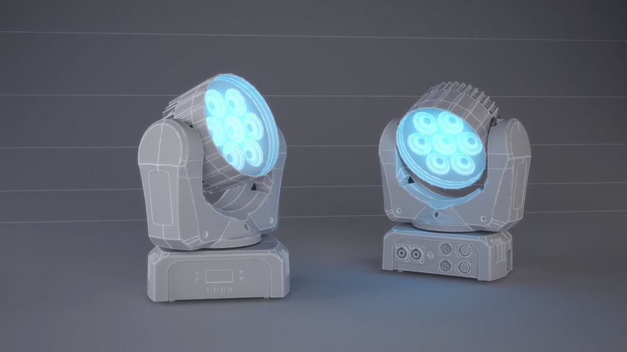 Led Light royalty-free 3d model - Preview no. 5