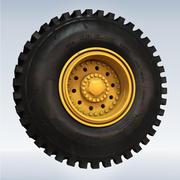 トラックタイヤ 3d model