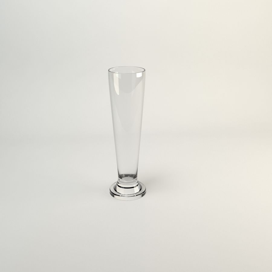 Cin Cin Tall Tall Cerveza royalty-free modelo 3d - Preview no. 3