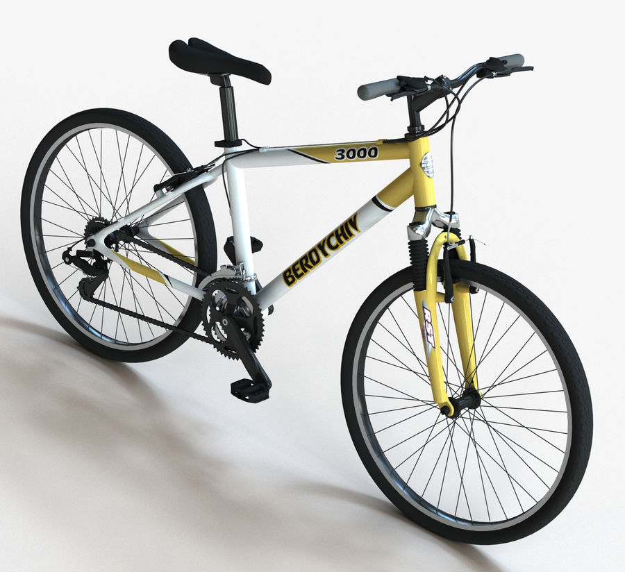 Mountain Bike royalty-free 3d model - Preview no. 1